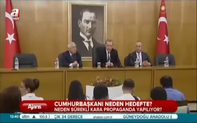 Cumhurbaşkanı Erdoğan neden hedef?