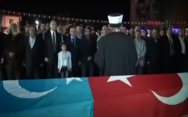 Kazan'da Uygur Türkleri için gıyabi cenaze namazı