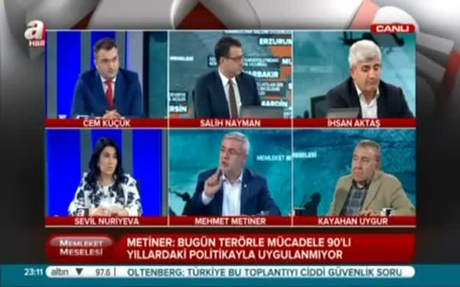 Mehmet Metiner: PYD Kandil'in partisidir