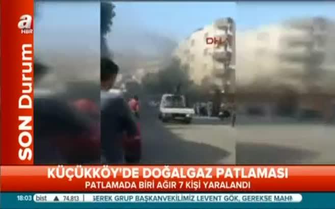 Gazioamanpaşa'da doğalgaz patlaması: 7 yaralı