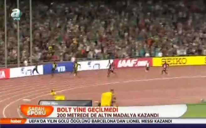 Bolt yine geçilmedi
