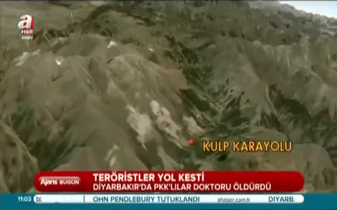 PKK doktor öldürdü