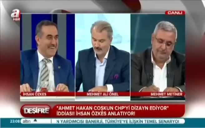 """""""Ahmet Hakan CHP'ye akıl hocalığı yapıyor!"""""""
