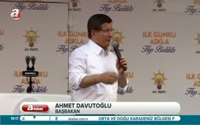 Başbakan'dan HDP'ye eleştiri