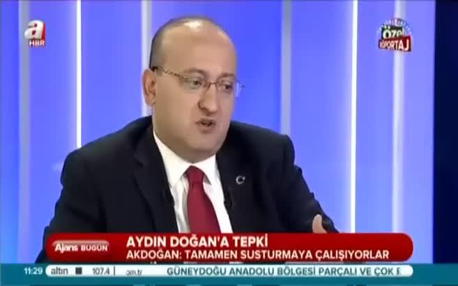 Yalçın Akdoğan'dan Aydın Doğan'a tepki