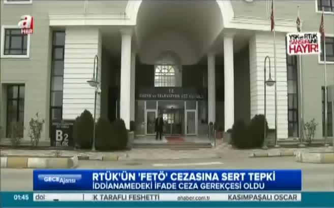 RTÜK 'FETÖ' ifadesine ceza verdi