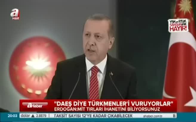 Erdoğan: Ya hu varsa ne olacak yoksa ne olacak