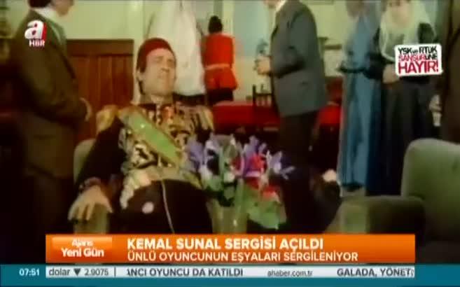 Kemal Sunal sergisi açıldı