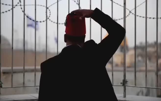 Erdoğan'lı Mescid-i Aksa filmi
