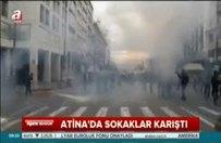 Yunanistan sokakları karıştı!