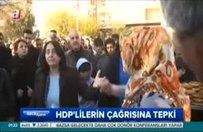 Sur halkından HDP'lilere tepki!