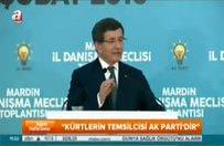 Başbakan: Kürtlerin temsilcisi AK Parti'dir