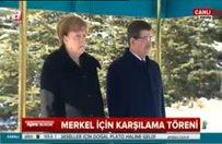 Almanya Başbakanı Ankara'da