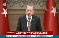 """Erdoğan:""""Ey ABD, kiminle berabersin!"""""""