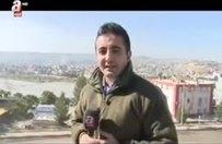 Cizre Köprüsü'nde Türk Bayrağı