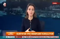 TSK Azez'de YPG'yi vuruyor