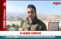 Cizre'deki el yapımı patlayıcılar böyle imha edildi