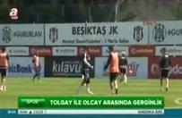 Beşiktaş'ın iki yıldızı antrenmanda kavga etti