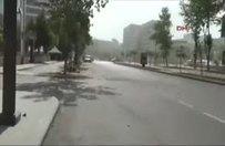 Gaziantep Emniyet Müdürlüğü önündeki patlama anı!