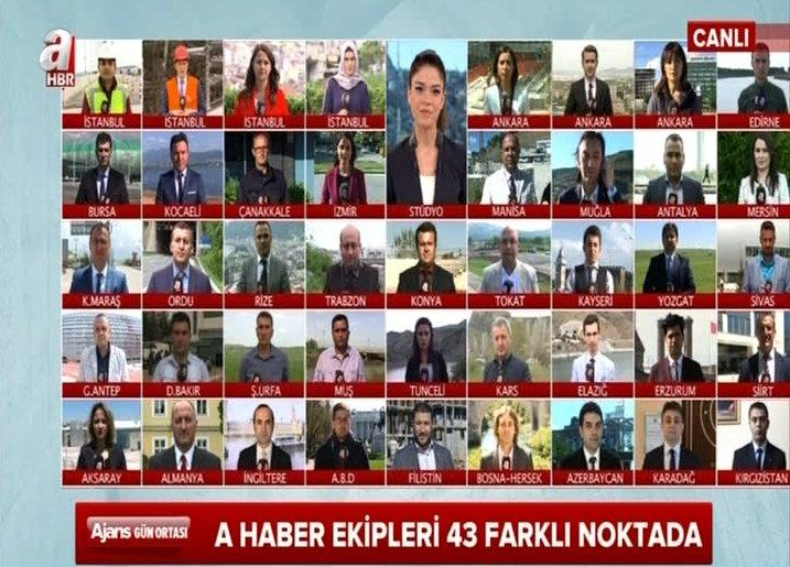 Türkiye'ye çağ atlatan projeler 43 farklı noktadan A Haber'de!