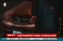 İstanbul'da araç kundaklama