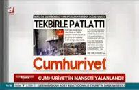 Cumhuriyet 'DAEŞ' dedi 'PKK' çıktı