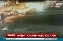 İşte Bağdat Caddesi'ndeki kaza anı