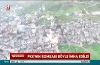 PKK'nın bombası böyle imha edildi