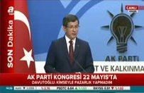 Davutoğlu adaylığı hakkında net konuştu