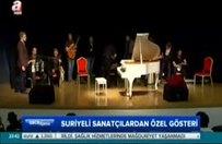 Geleceğin 'müzik dehası' Suriyeli Tambi A Haber'de