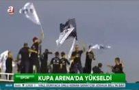 """Beşiktaş'ta """"şampiyonluk"""" şöleni"""