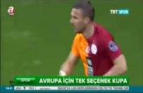Galatasaray'da tek çare kupa!