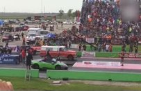 Çiftçi kamyoneti milyonluk spor otomobilleri rezil etti!