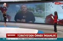 Türkiye'den örnek insanlık!