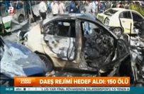DAEŞ rejimi hedef aldı: 150 ölü