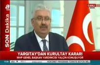 MHP'den seçimli kurultay kararı