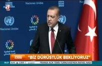 Erdoğan'dan Avrupa'ya vize resti