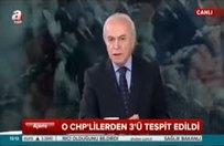 Küfürbaz CHP'lilerden 3'ü tespit edildi
