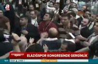 Elazığspor kongresinde kavga