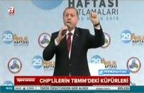 Erdoğan: Küfredecek kadar alçaldılar!