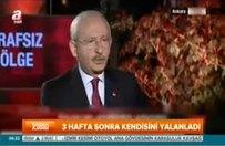 Kılıçdaroğlu canlı yayında kendini yalanladı!