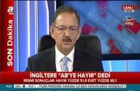 Bakan Özhaseki: AB güç kaybedecek, içine dönecek