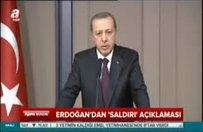 Erdoğan'dan 'saldırı' açıklaması
