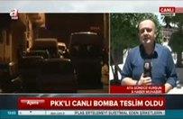 PKK'lı canlı bomba teslim oldu!