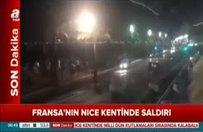 Nice'deki saldırının ardından ilk görüntüler