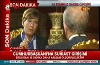 Erdoğan: Meclis'ten idam kararı çıkarsa altına imzamı atarım