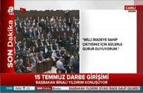 Başbakan: CHP, MHP ve HDP'ye teşekkür etti