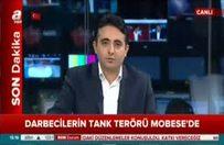 Darbecilerin tank terörü MOBESE'de