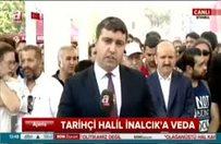 Fatih Camii'nde tarihçi Halil İnalcık'a veda