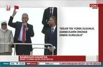 Başbakan: Akıncı Üssü kapatılacak, FETÖ getirilecektir!